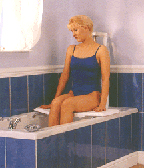 Bath Tub Lift in use