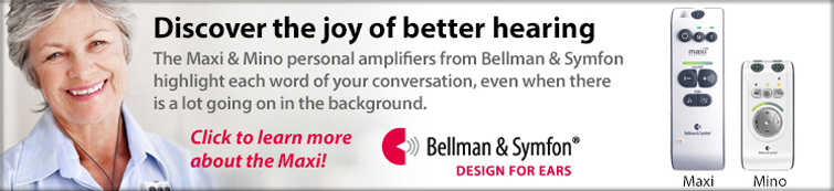 Bellman and Symfon Maxi Personal Amplifier