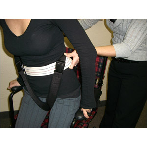 Uni Thigh Strap In Use