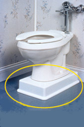 Medway Easy Toilet Riser Toilet Elevation Kit Active
