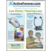 Low Vision / Hearing Loss Catalog