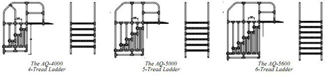 Aqua Trek Pool Ladder