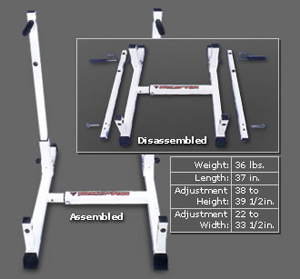 Triceptor Dip Bar Stand