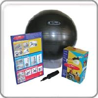 FitBall Exercise Ball with Pump