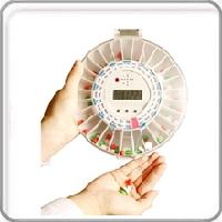 Med-E-Lert Automatic Pill Dispenser with Alarm