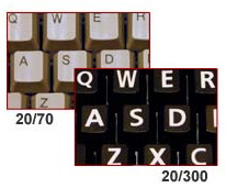 Visikey Enhanced Visibility Keyboard