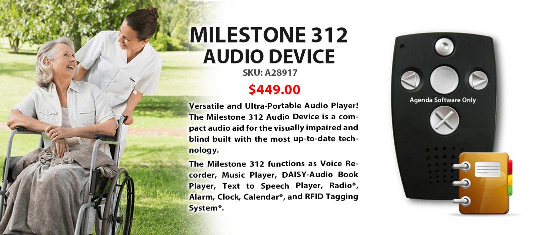 Milestone 312 Audio Device