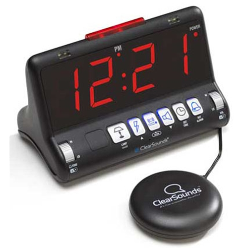 ClearSounds ShakeUp to WakeUp Alarm Clock with Bed Shaker at Sears.com