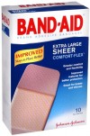 Johnson & Johnson Band Aid Assorted Size Sheer Comfort Flex