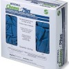 Covidien ChemoPlus Latex Exam Gloves Textured Fingertips Blue Power Free - NonSterile