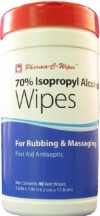 Custom Manufactured Products Pharma-C-Wipes Pre-Moistened First Aid Antiseptic Wipes