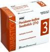 Professional Disposables Povidone Iodine Prep Swabsticks