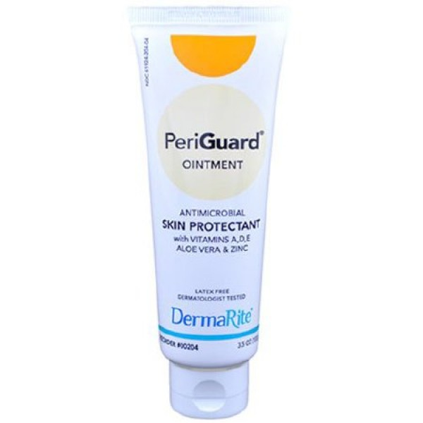 Dermarite Industries PeriGuard Ointment Skin Protectant with Vitamins, Aloe Vera & Zinc