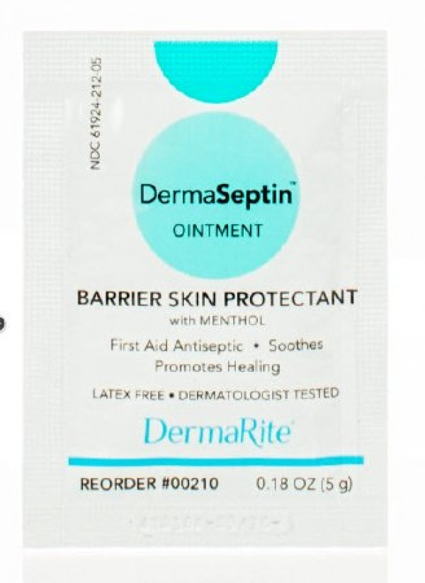 Dermarite Industries DermaSeptin Soothing Skin Cream Barrier Protectant Ointment