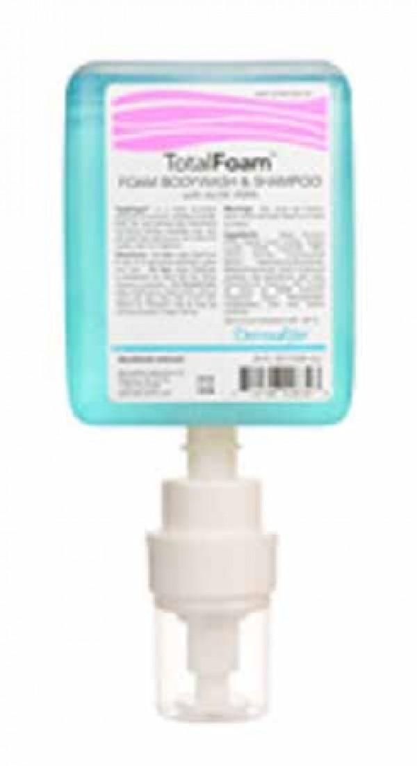 Dermarite Industries TotalFoam Foaming Shampoo and Bodywash