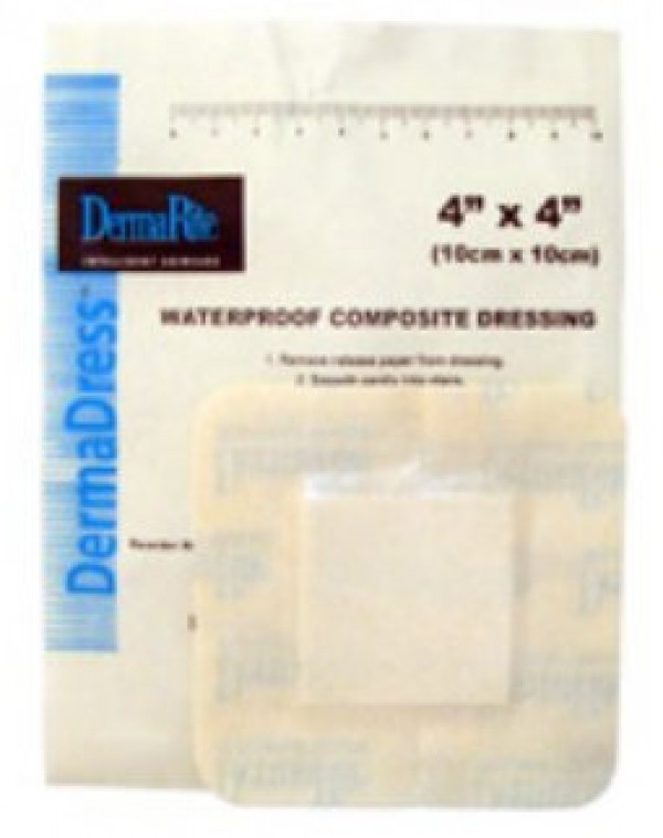 Dermarite Industries DermaDress Waterproof Composite Dressing