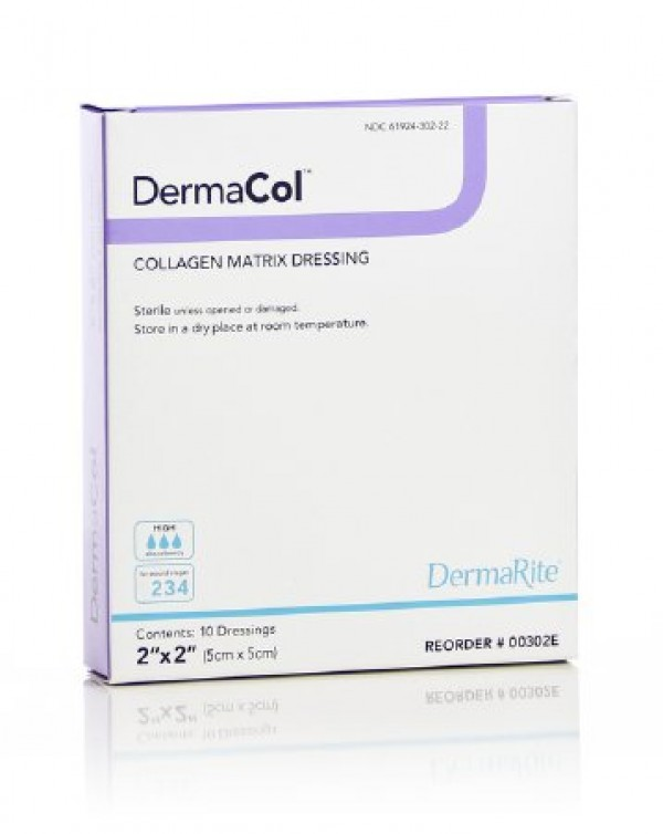 Dermarite Industries DermaCol Collagen Matrix Dressing