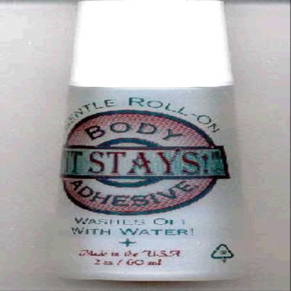It Stays Roll-on Body Adhesive