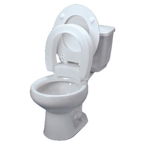 Awesome Maddak Hinged Toilet Seat Riser Bath Safety Uwap Interior Chair Design Uwaporg
