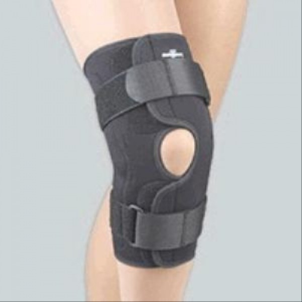 Safe-T-Sport Wrap Around Hinged Knee Brace