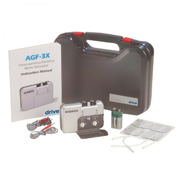 Drive AGF-3X Deluxe Dual Channel TENS Unit