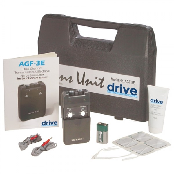 Drive AGF-3E Economy Dual Channel TENS Unit