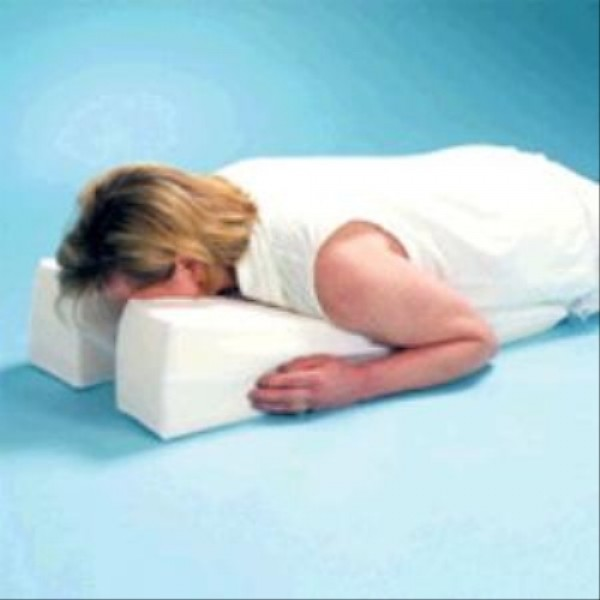 Hermell Face Down Ergonomic Pillow
