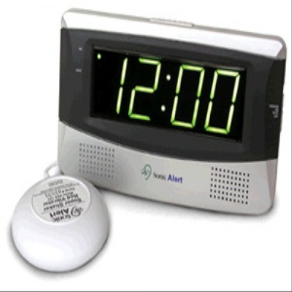 Sonic Boom Alarm Clock - Extra Large Display