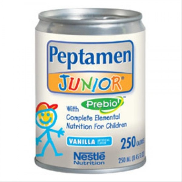 Nestle Peptamen Junior with Prebio - 24 per case - Vanilla