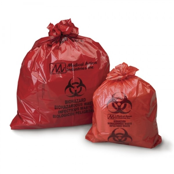 Medical Action Industries Biohazard Waste Bag