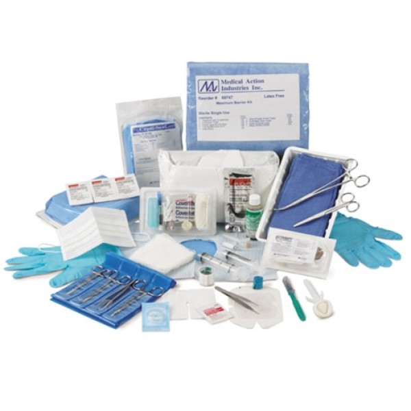 Medical Action Industries Suture Removal Kit with Iris Scissors
