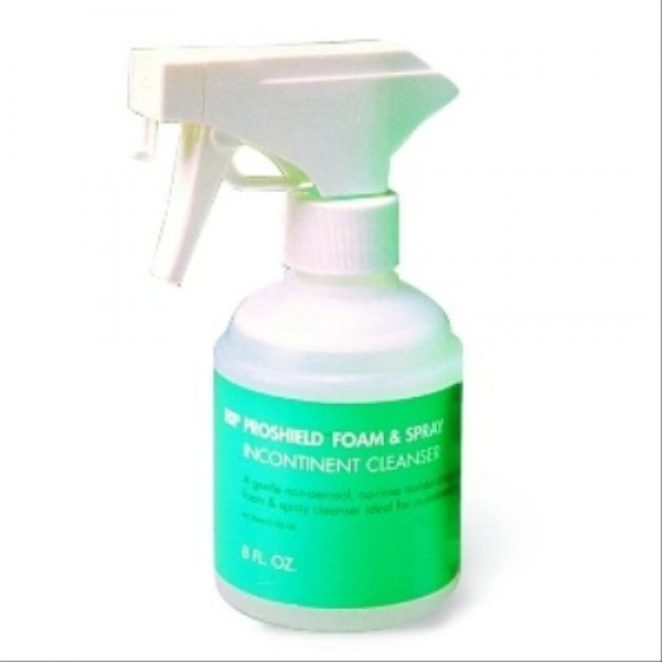 Healthpoint Medical Proshield Foam & Spray Incontinent Cleanser