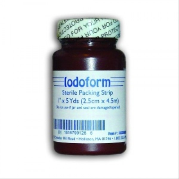 Invacare  Iodoform Gauze Packing Strip - Sterile