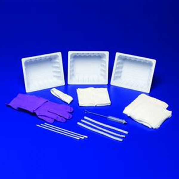 Kendall Trach Care Kits with Removable Basin