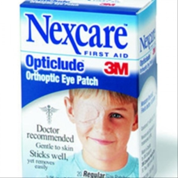 3M Nexcare Opticlude Orthoptic Oval Eye Patches