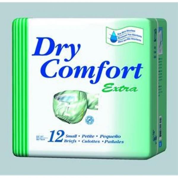 Dry Comfort  Adult Briefs