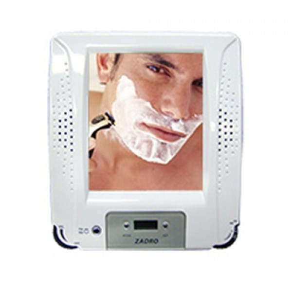 Zadro Shower Radio with Fogless Shaving Mirror