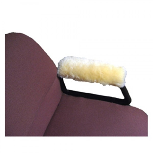 Sheepskin Ranch Sheep Skin Wheelchair Arm Rest Pads