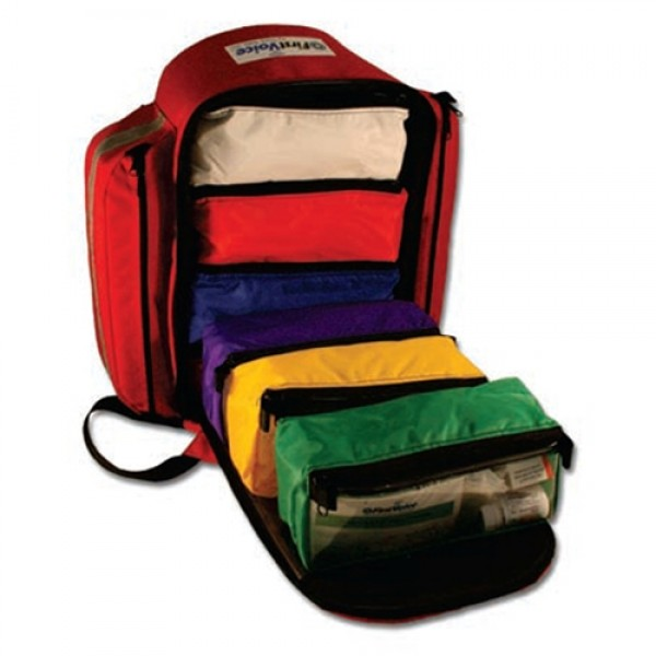 First Voice Self Contained Emergency Treatment Backpack Kit
