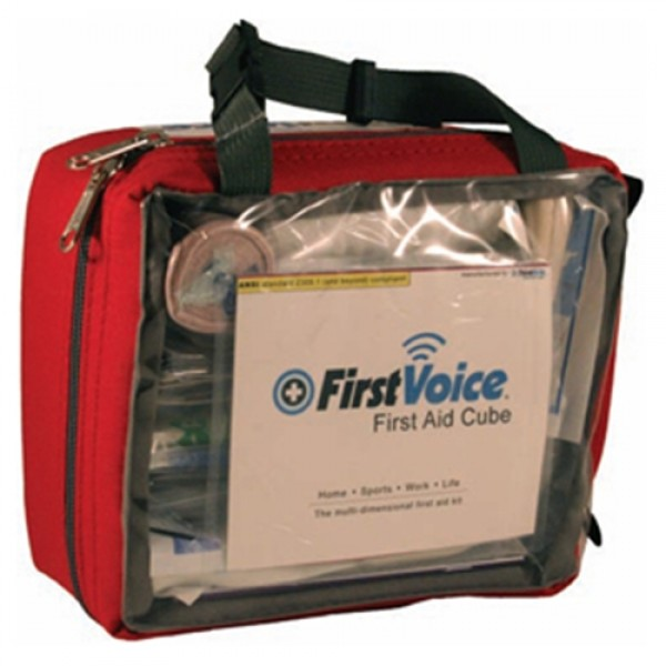 First Voice CUBE Portable First Aid Kit