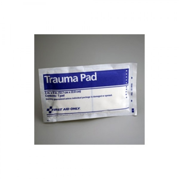 First Aid Only Trauma Pad 5 Inch x 9 Inch