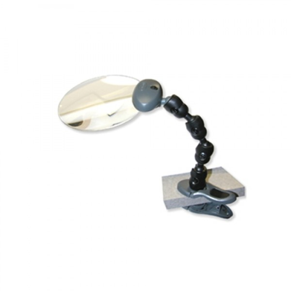 Carson LED Attach-a-Mag Lighted Clamp On Magnifier