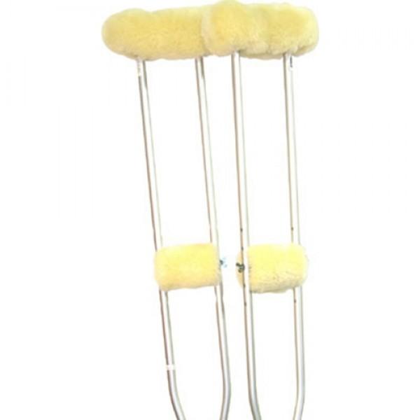 Sheepskin Ranch Sheep Skin Crutches Accessory Kit