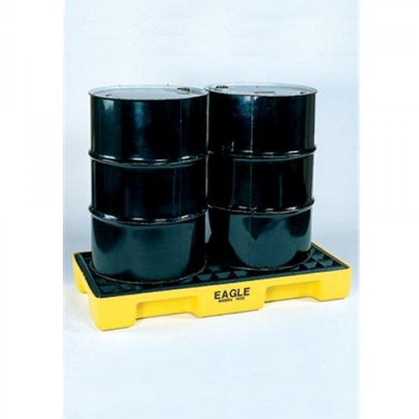Eagle 2-Drum 30 Gallon Polyethylene Modular Spill Containment Platform