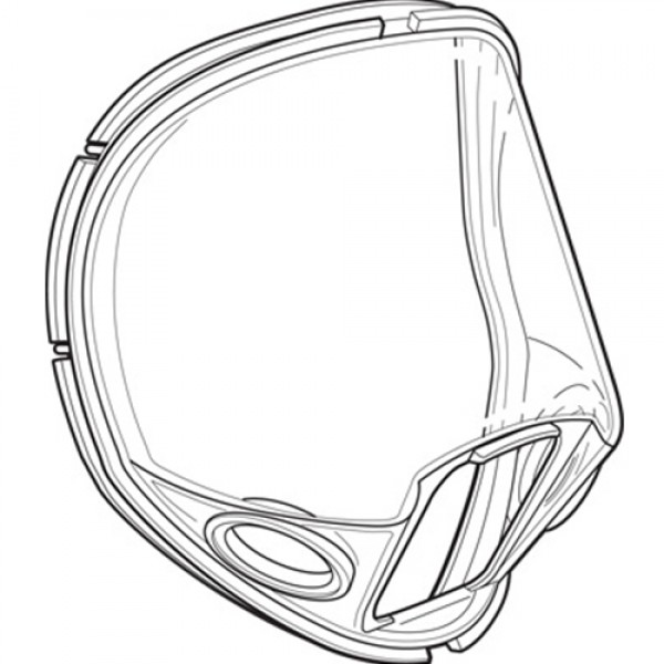 Allegro Replacement Lens for Full Mask Respirators 9901 LP & 9902 HP