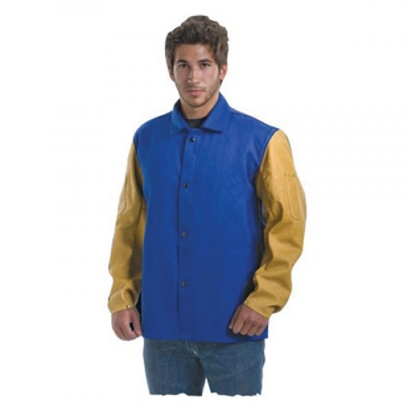 Tillman  Top Grain Cowhide Leather And Cotton Flame Retardant Jacket