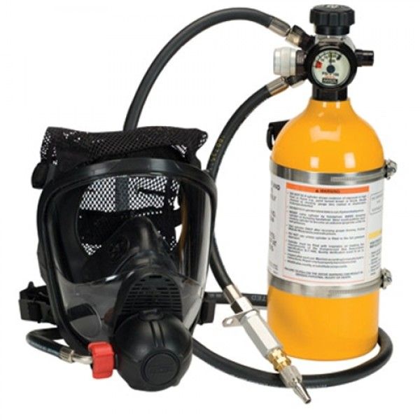 MSA PremAire  Cadet Escape Supplied Air Respirator With Cylinder