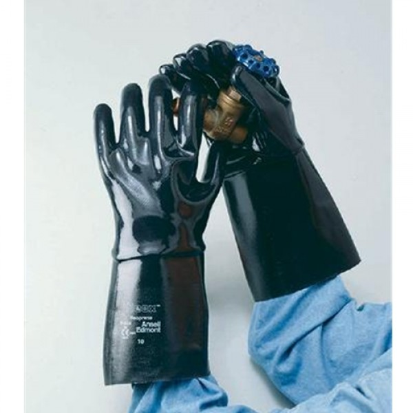 Ansell Neox  Fully Coated Neoprene Glove With Gauntlet Cuff