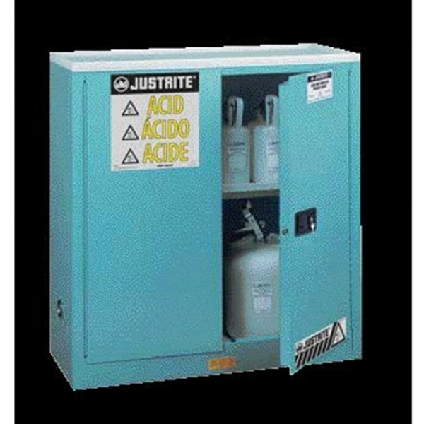 Justrite  Steel Undercounter Sure-Grip  EX Corrosives Safety Cabinet