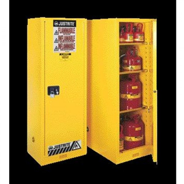 Justrite  Slimline Sure-Grip  EX Safety Cabinet